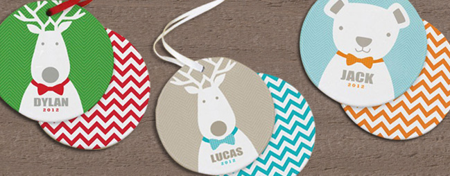 Personalized Christmas Ornaments