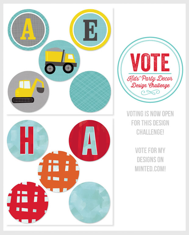 Vote for my designs on Minted!