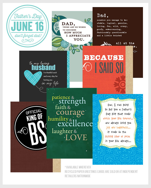 Father's Day 2013 Greeting Cards