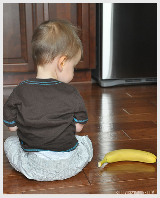 Toddler Wisdom: Sit and Eat