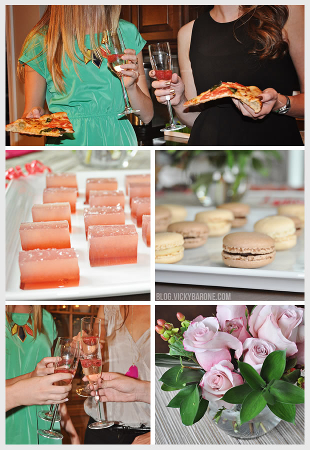Pizza and Champagne Party