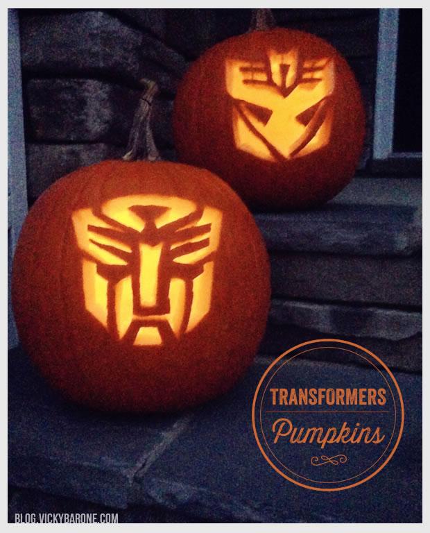 Transformers Pumpkins