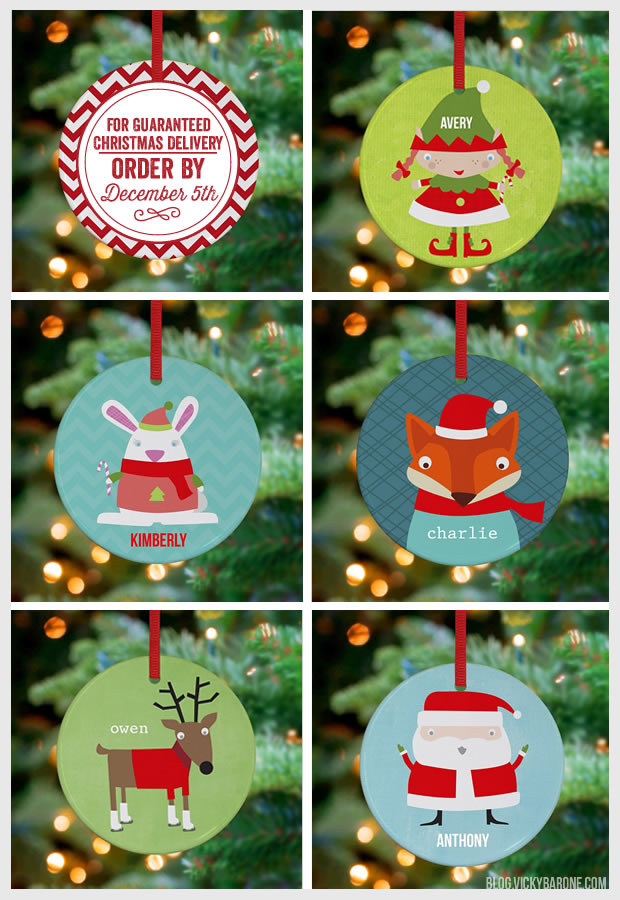 Holiday Ornaments: Guaranteed Christmas Delivery 2013