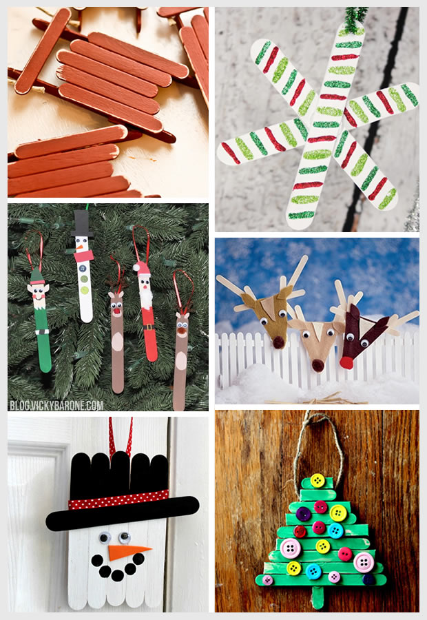 Things I Love: Popsicle Stick Ornaments