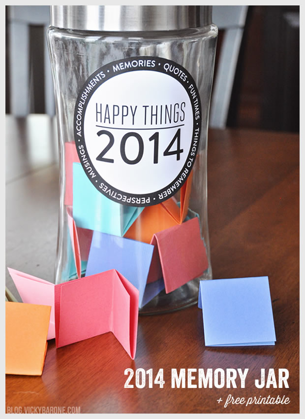 Happy Things Jar + A Free Printable!