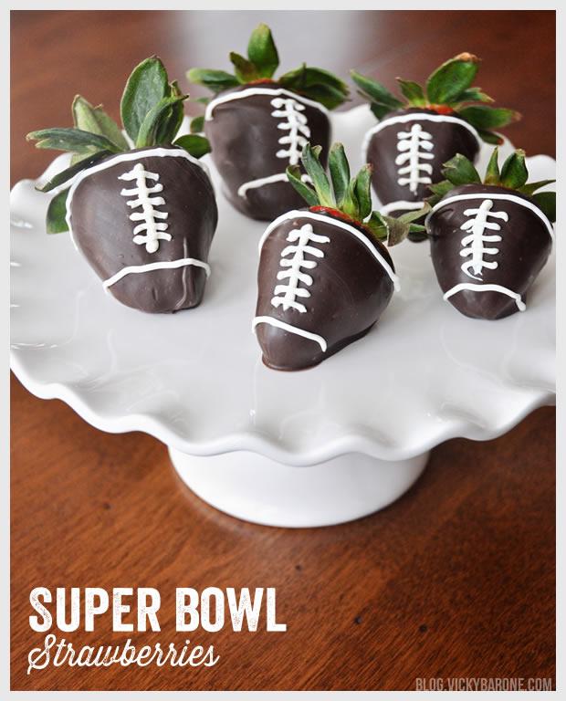 Super Bowl Strawberries