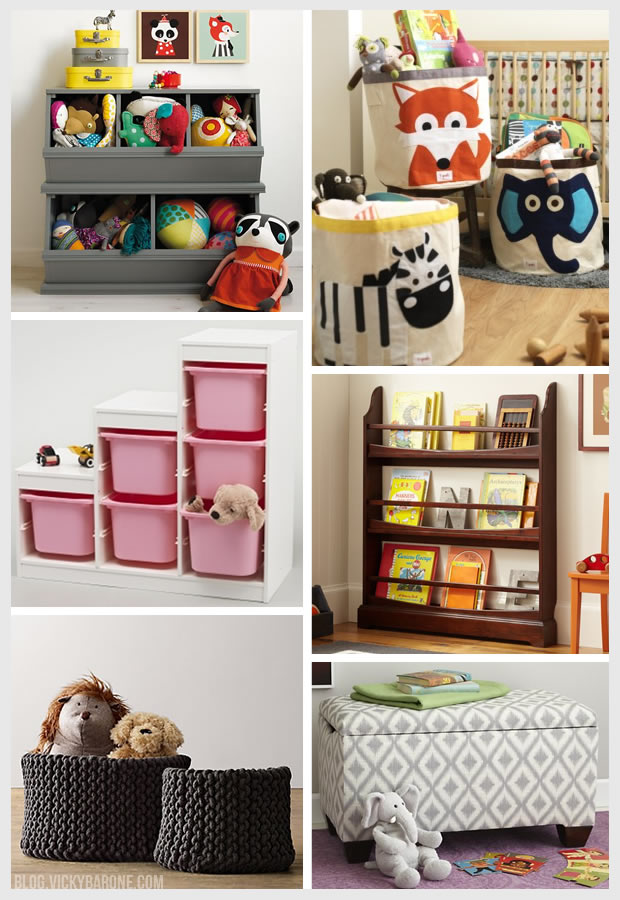 Things I Love: Children's Storage Solutions