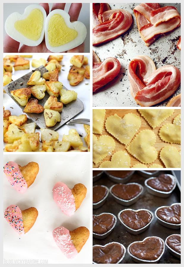 Things I Love: Heart-Shaped Food