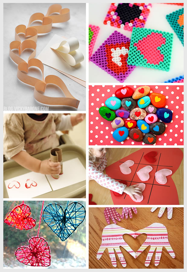 Things I Love: Valentine's Day Crafts for Kids