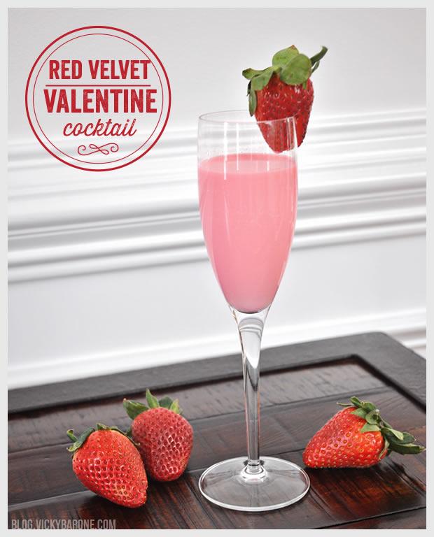Red Velvet Valentine Cocktail