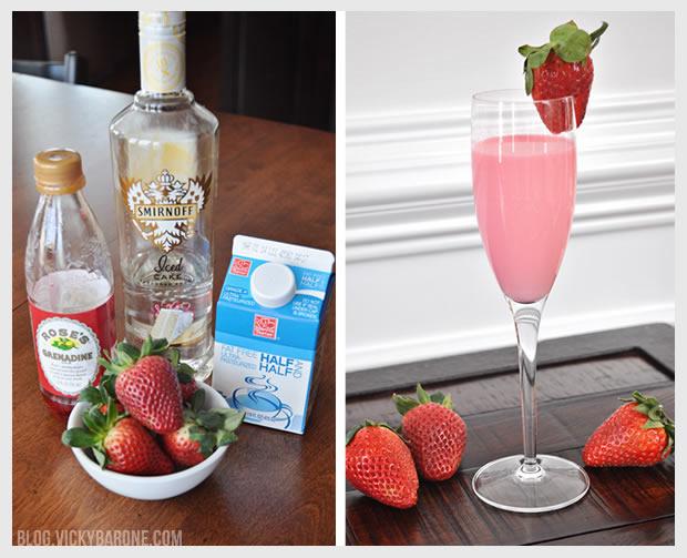 Red Velvet Valentine Cocktail | Vicky Barone