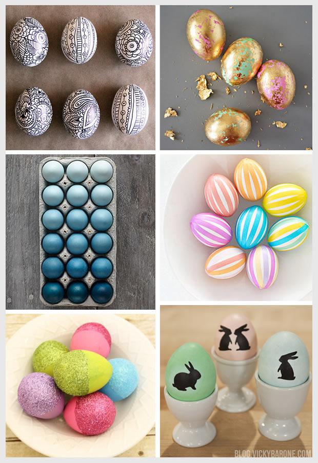 Things I Love: Modern Easter Eggs
