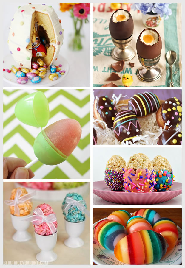 Things I Love: Easter Egg-Shaped Treats
