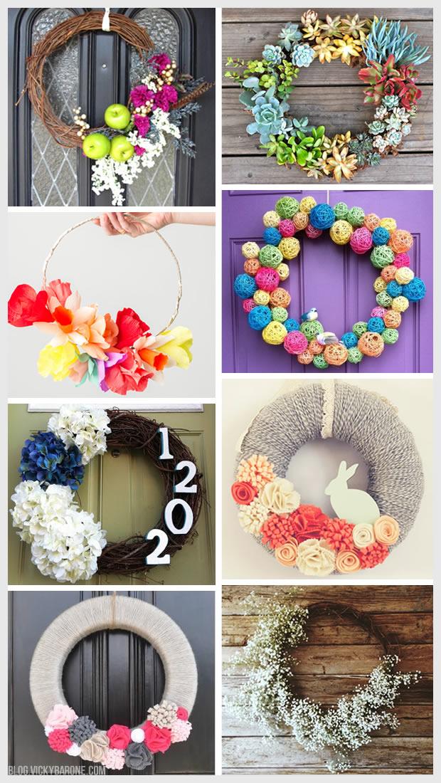 Things I Love: DIY Spring Wreaths