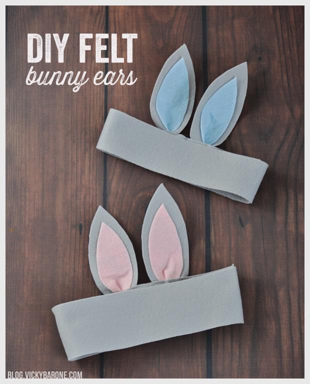 DIY Felt Bunny Ears