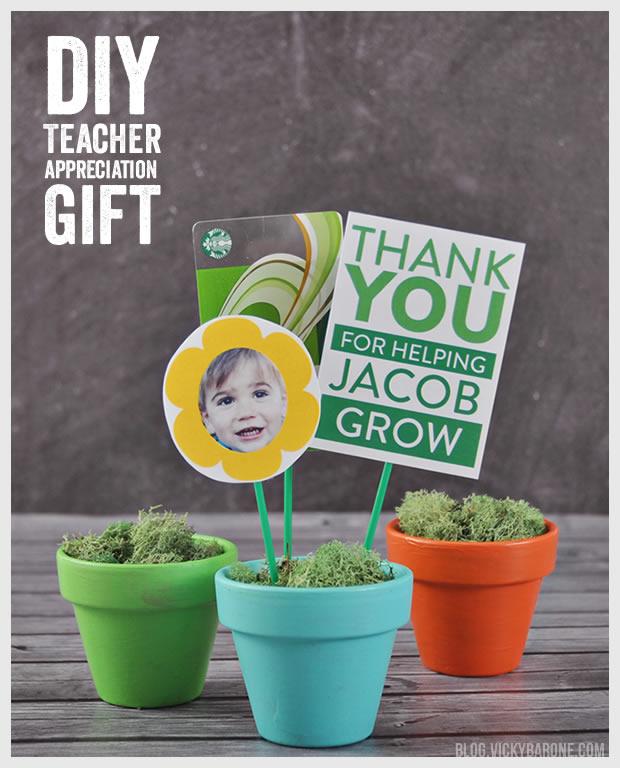 DIY Teacher Appreciation Gift