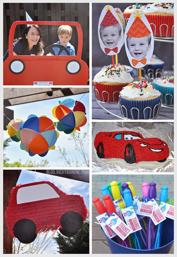 Racecar Birthday Party