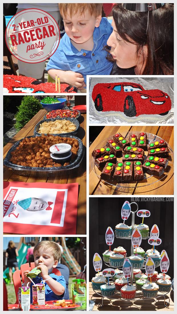 Racecar Birthday Party   Vicky Barone