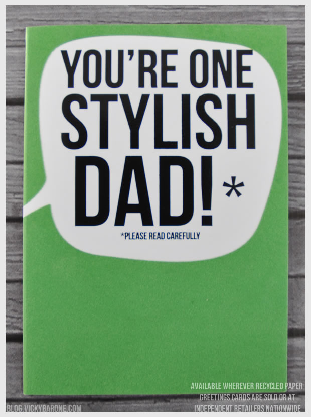 Father's Day Greeting Cards 2014 | Vicky Barone | Recycled Paper Greetings