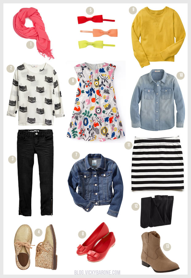 Back to School: Outfits for Girls