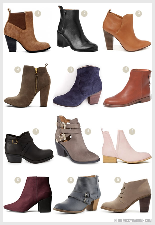 Things I Love: Ankle Boots