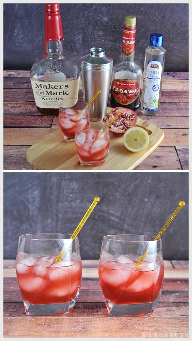 Pomegranate Sour | Vicky Barone