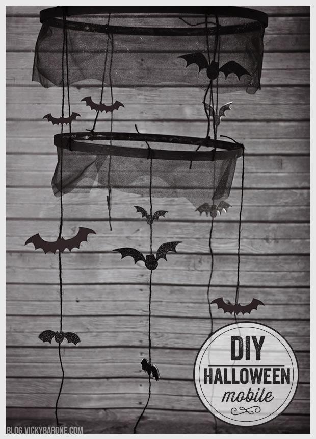 DIY Halloween Mobile