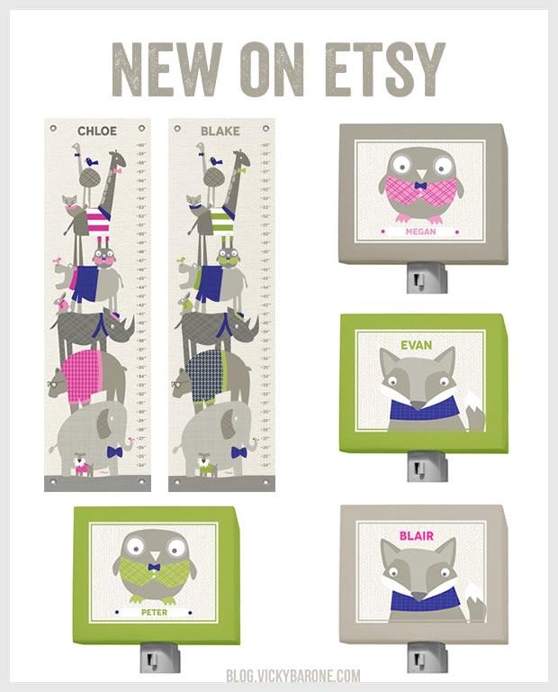 New Artwork on Etsy