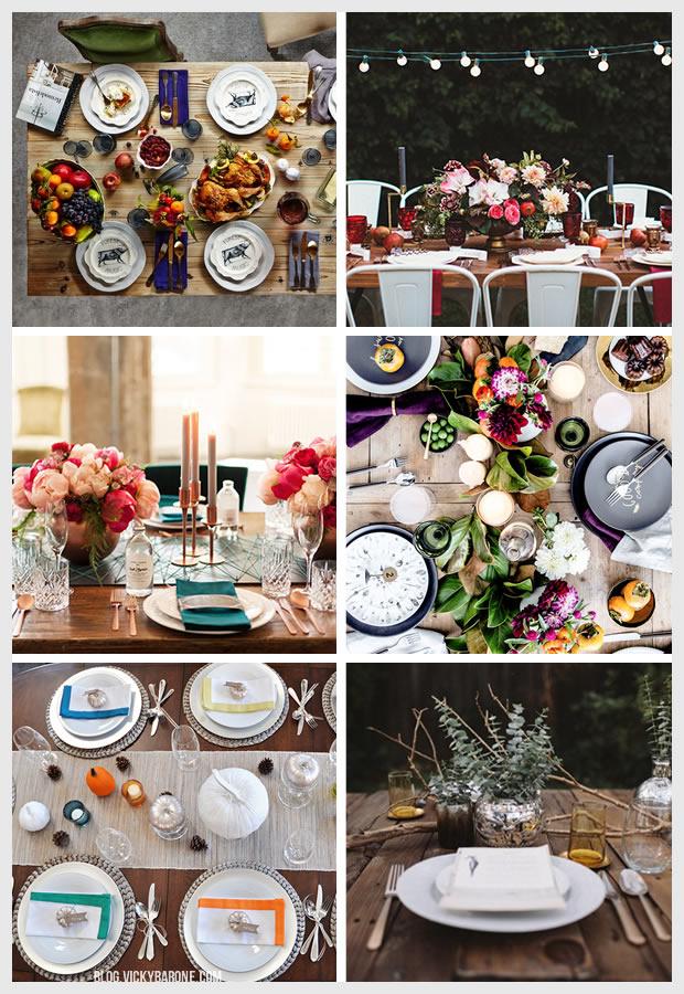 Things I Love: Thanksgiving Table Settings
