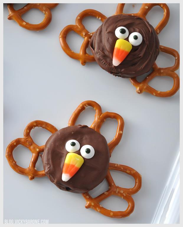 Chocolate Covered Oreo Turkeys | Vicky Barone