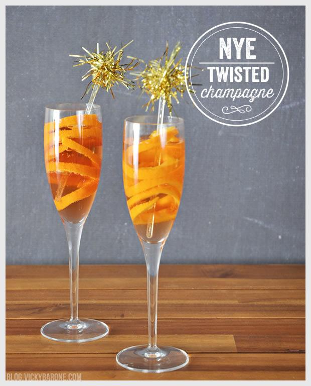 NYE Twisted Champagne