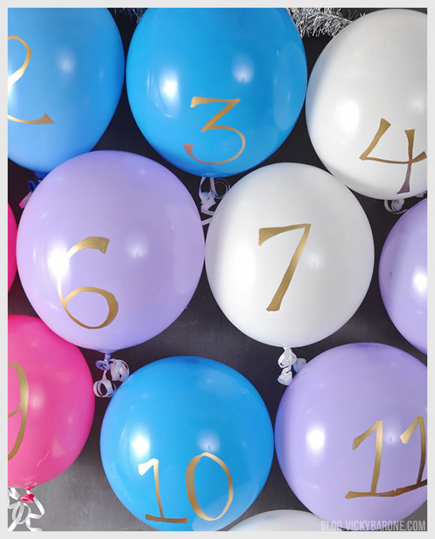 New Year's Eve Balloon Pop Countdown | Vicky Barone