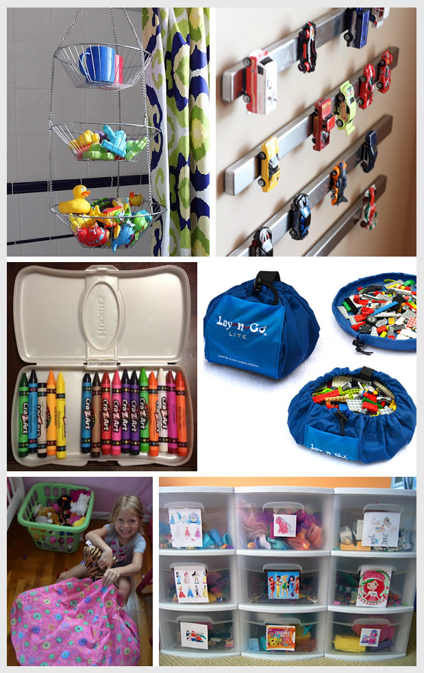 Things I Love: Genius Toy Storage Solutions