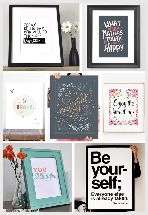 Things I Love: Inspirational Art Prints