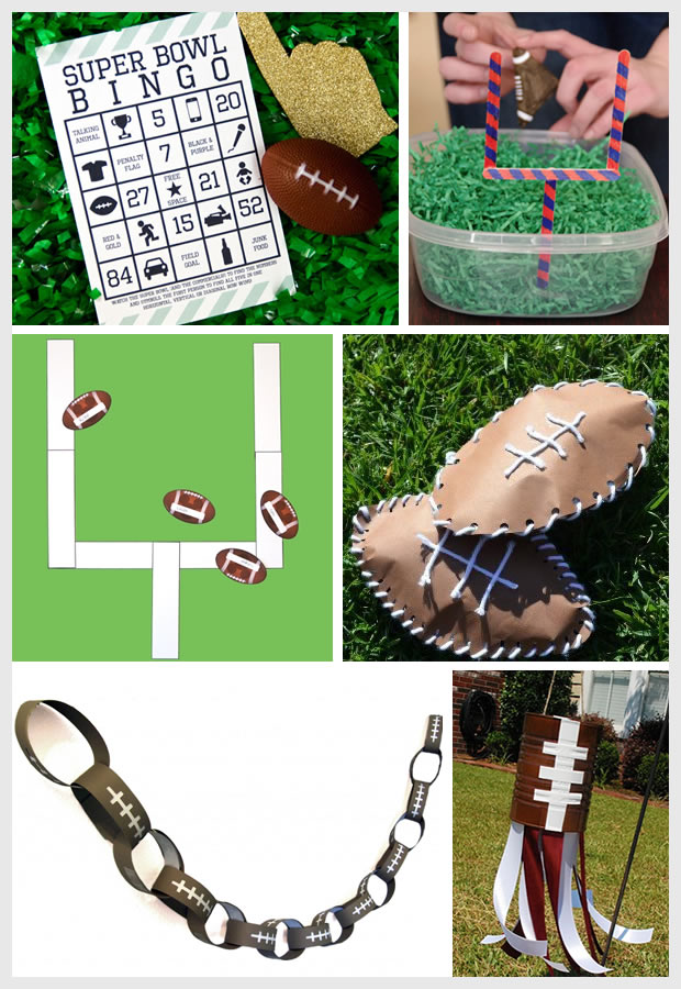 Things I Love: Superbowl Activities for Kids