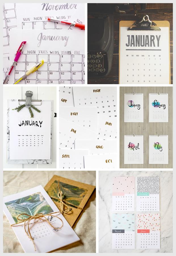 Things I Love: FREE Printable 2015 Calendars