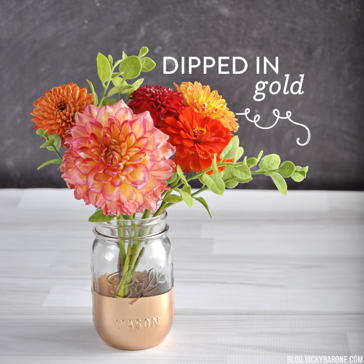 Things I Love: Dipped in Gold