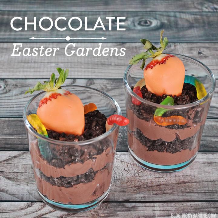 Chocolate Easter Gardens