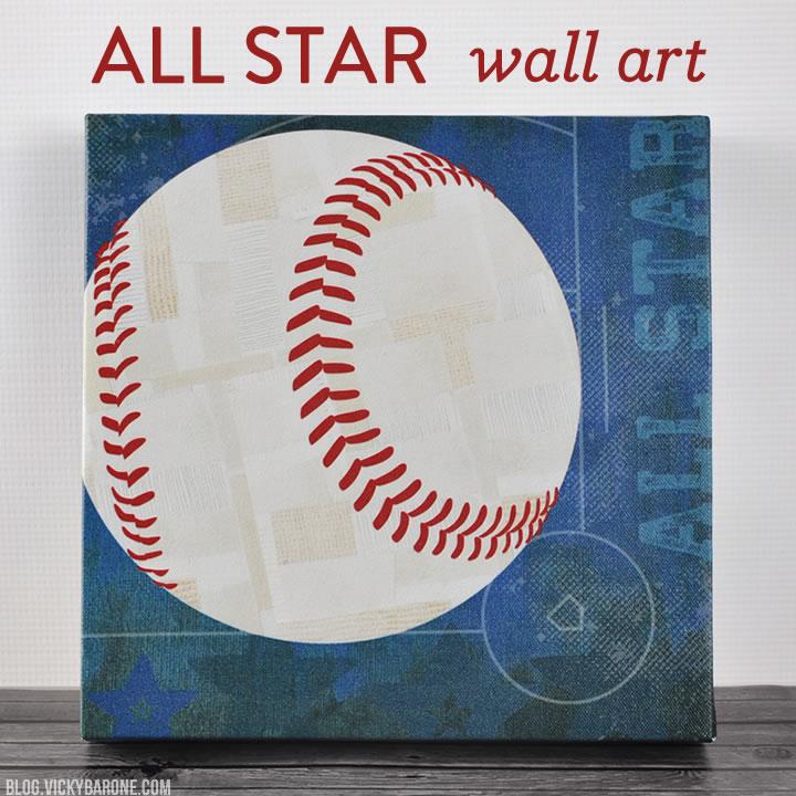 All Star Wall Art