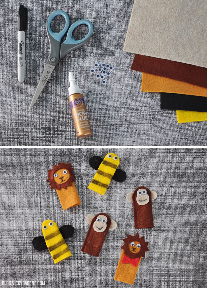 DIY Finger Puppets | Vicky Barone