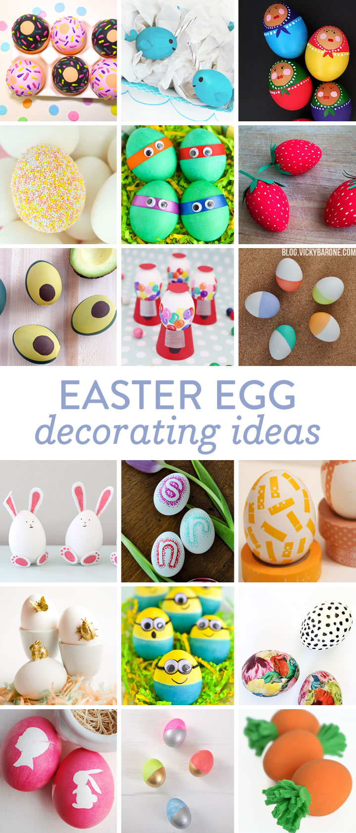 Easter Egg Decorating Ideas | Vicky Barone