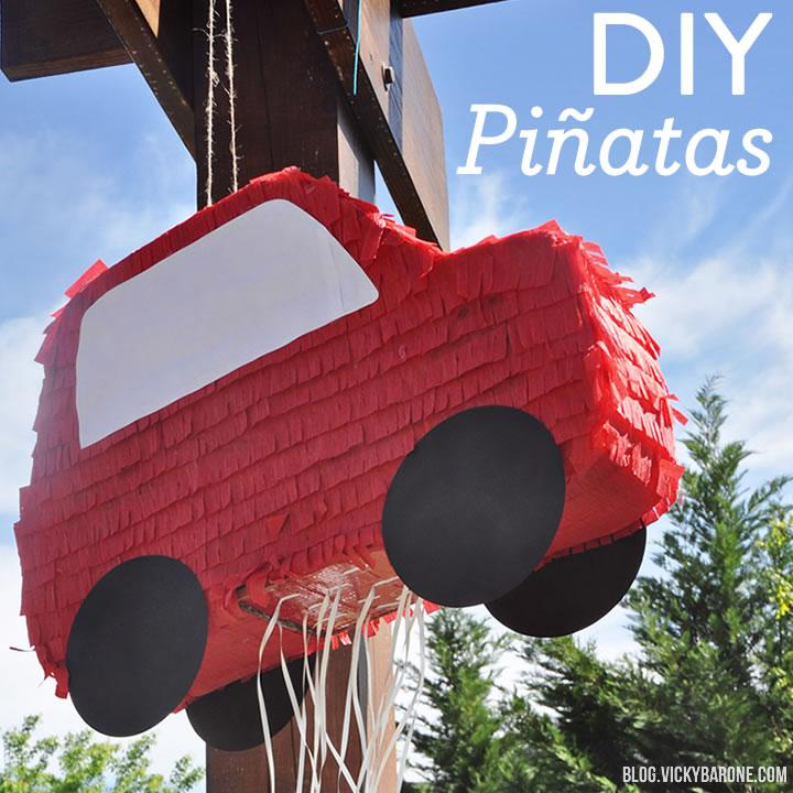 Things I Love: DIY Piñatas