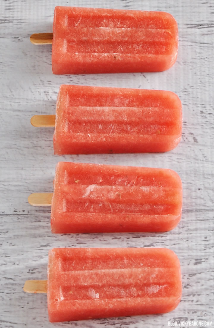 Watermelon Popsicles | Vicky Barone