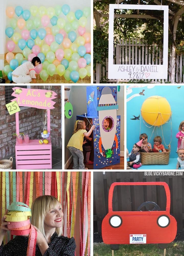 DIY Photo Booth Ideas   Vicky Barone