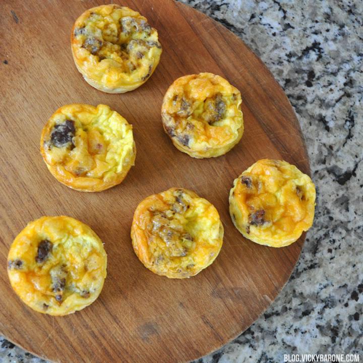 Breakfast Muffins Recipe | Vicky Barone