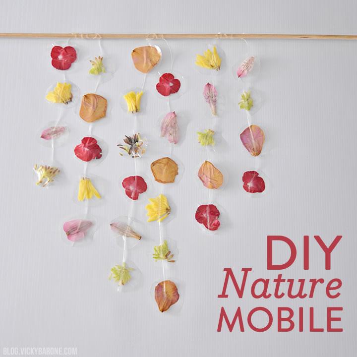 DIY Nature Mobile