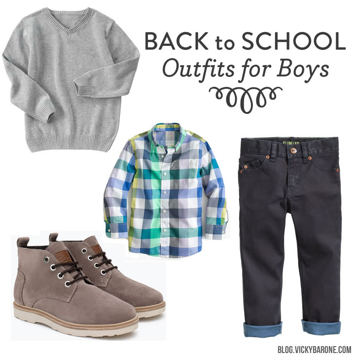 Back to School : Outfits for Boys