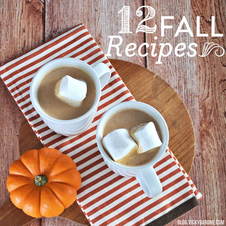 12 Fall Recipes