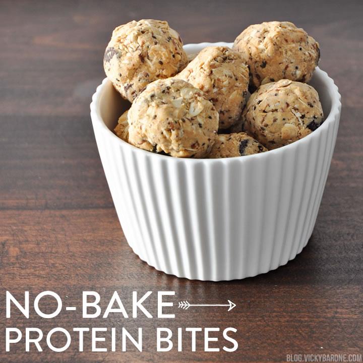 No-Bake Protein Bites