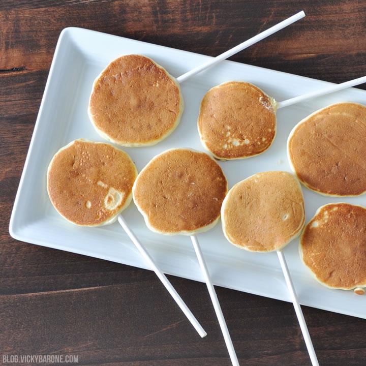 Pancake Pops   Vicky Barone
